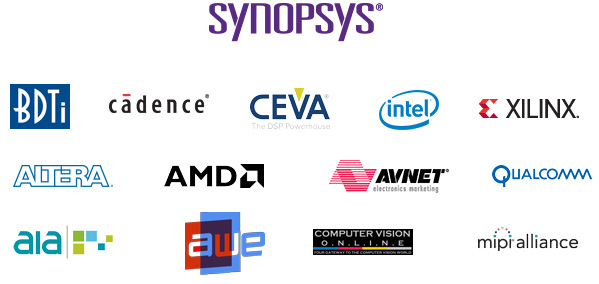 Embedded Vision Summit Sponsors