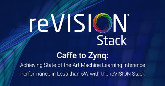 Caffe to Zynq: State-of-the-Art Machine Learning Inference