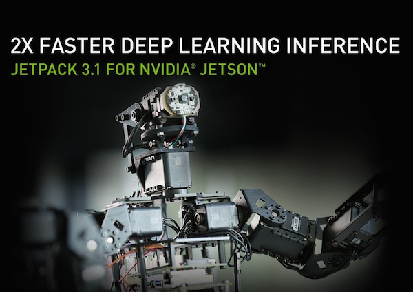 JetPack 3 1 Doubles Jetson's Low-Latency Inference Performance