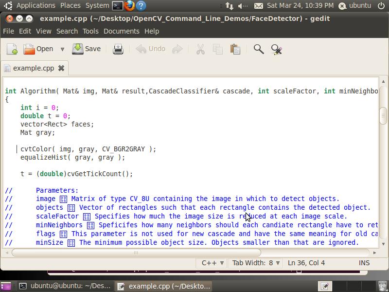 Start Developing OpenCV Applications Immediately Using the